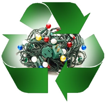 Recycle lights logo